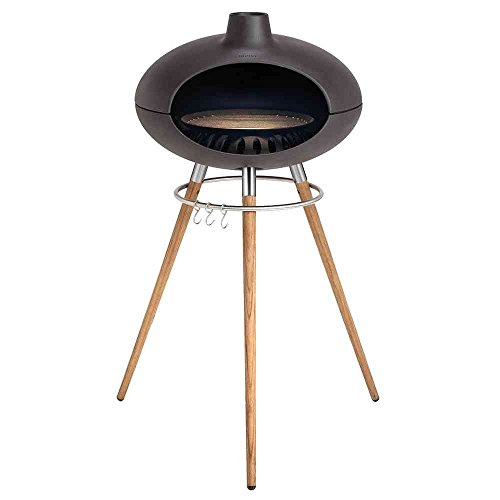 Morso Grill Outdoor Pizza, grill e forno a legna con gambe