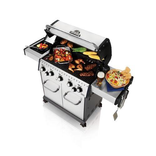 Barbecue Broil King BARON S 590 aperto