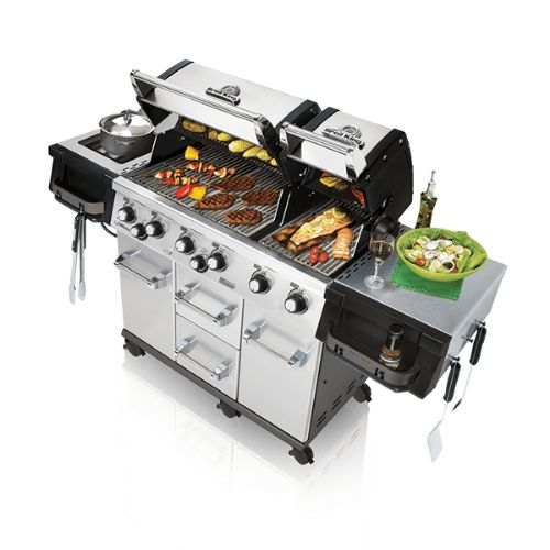 barbecue a gas Broil King Imperial xls690 aperto