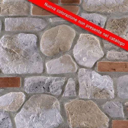 pannello pietra ricostruita decor Misto Contadino MCT 005