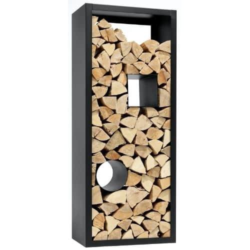 porta legna a perete