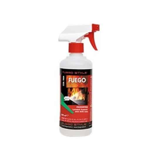 spray detergente vetri camini