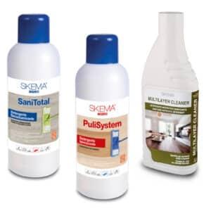 prodotti per la pulizia, igienizzazione e decontaminazione